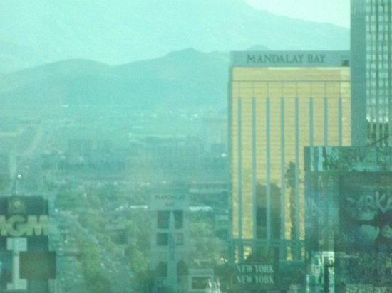 "Trump International Hotel Las Vegas: View from room ""strip facing room"" with zoom On"