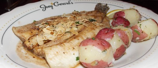 Joey Gerard's Mequon: Trout Almondine