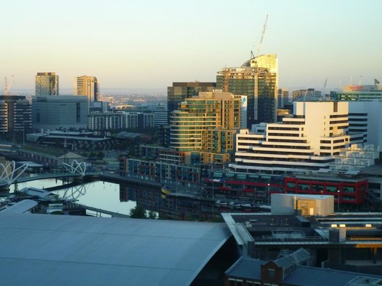 Crown Metropol Melbourne: View from our room