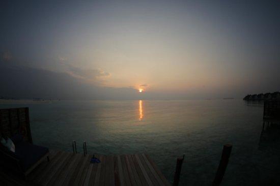 Four Seasons Resort Maldives at Kuda Huraa: Can it sink into the sea