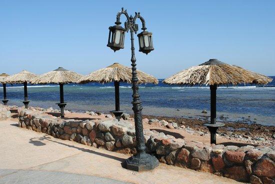 Ghazala Hotel: Promenade