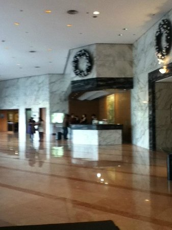 Hilton Gyeongju: Reception area 