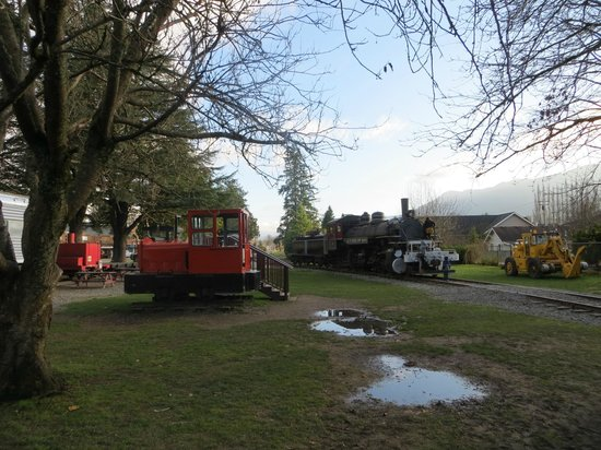 Northwest Railway Museum: the other side of th station