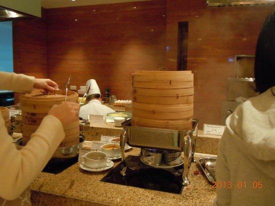 The Okura Prestige Taipei: 朝食・和洋中ありどれも美味しかった。