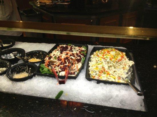Falls Buffet at Snoqualmie Casino: salad