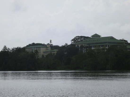 Gamboa Rainforest Resort: View from the river.