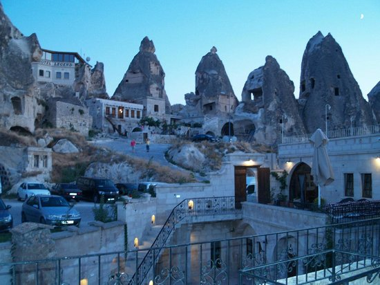 Cappadocia Cave Suites: This is an early morning shot. We stayed in room 114, AWESOME!!!