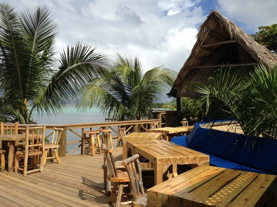 Tranquilseas Eco Lodge and Dive Center: Sun terrace