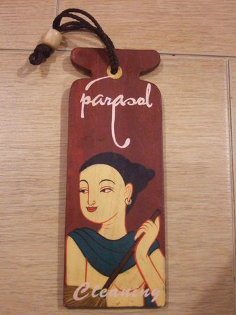 Parasol Hotel Chiang Mai by Compass Hospitality: Clean my room sign