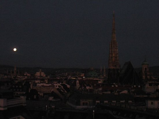 Hotel Am Parkring: stephansdom at dawn taken from hotel suite