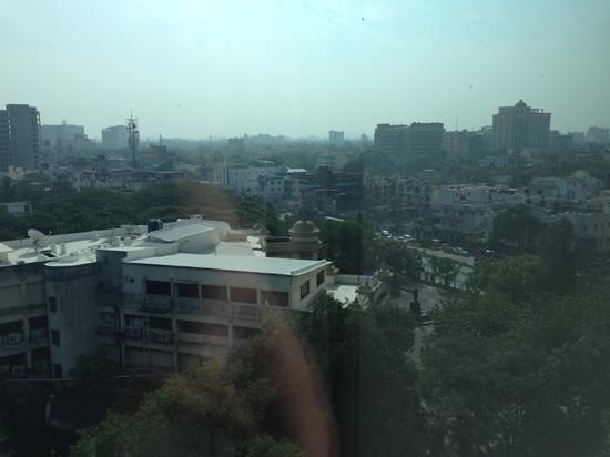 Hyatt Regency Chennai:                   view of city from room