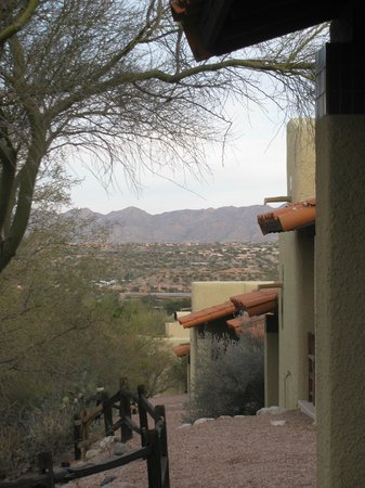El Conquistador Tucson, a Hilton Resort: View from our casita