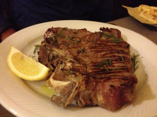 Osteria dei Mercanti: Bisteca a la Fiorentina
