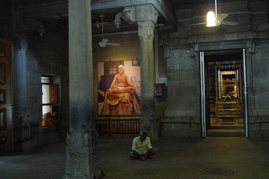 Thiruvannamalai, الهند: Inside Ramana's ashram 