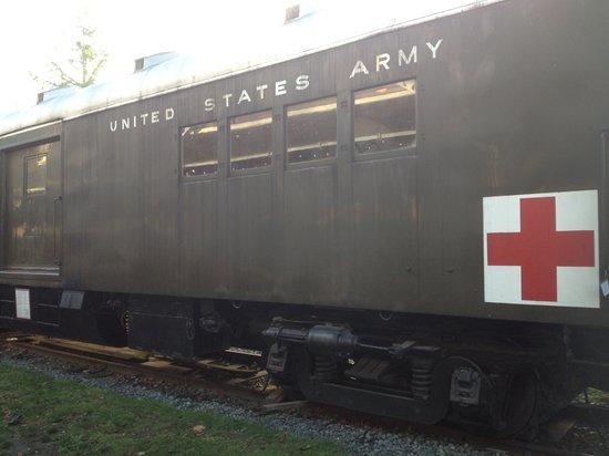 Northwest Railway Museum : hospital train