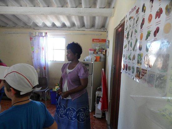 Uthando Tours: @ Isiseko Educare Centre, Mfuleni with the wonderful Mama Zoliswa Siko