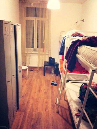 Online Hostel: Это был наш уютный номер))