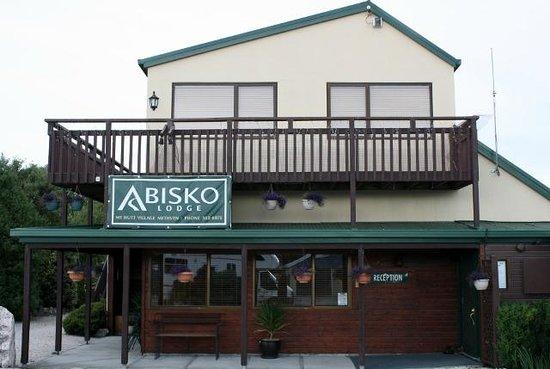 Abisko Campground:                                                       The lobby.