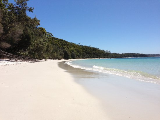 Worrowing Jervis Bay Eco Resort: The nearby (20mins) Hole In The Wall Beach - amazing!