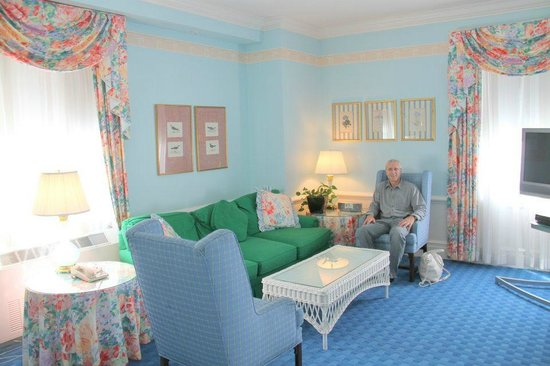 The Greenbrier: Our room