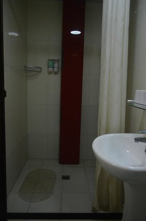 Lotus Courtyard Hotel: Shower