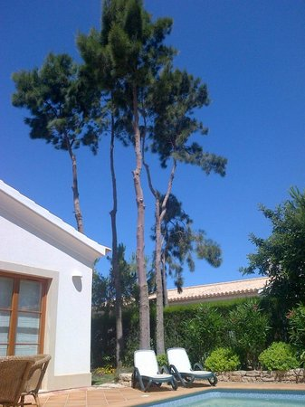 AlmaVerde Village & Spa: Pool Area & Cloudless Sky (for the entire holiday)