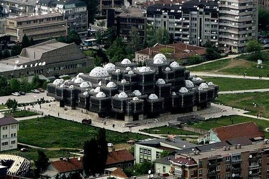 Pristina National Library