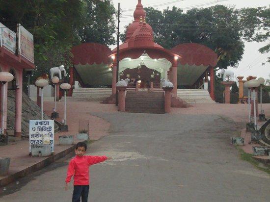 Kamaleswari temple: The Temple