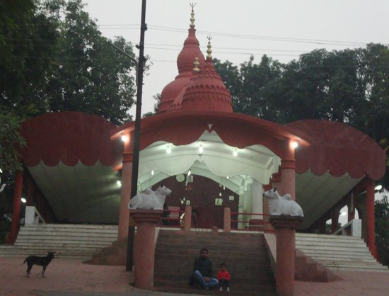 Agartala, India: The Temple at Evening