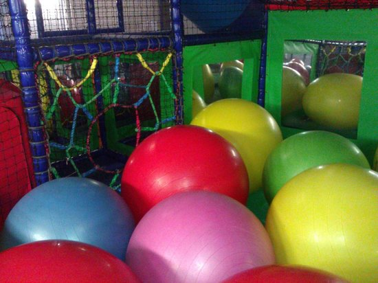 AJ'z Activity Centre: Big ball bounce!