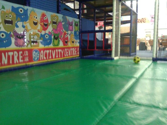 AJ'z Activity Centre: Football zone