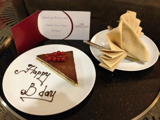Crowne Plaza Doha - The Business Park: Greetings from the hotel