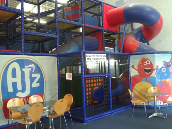 AJ'z Activity Centre: spiral and speed slides