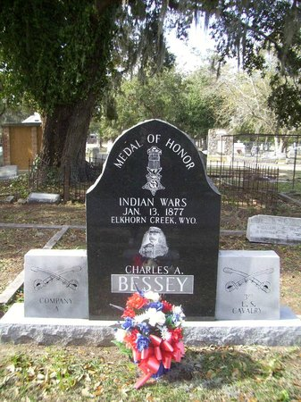 Old Biloxi Cemetery: GEORGE A. BESSEY... MEDAL OF HONOR
