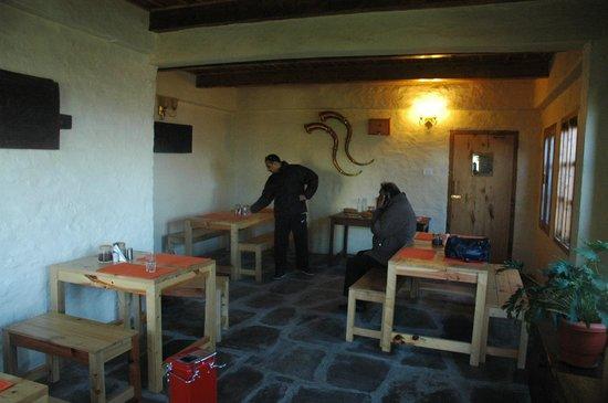 Seetalvan Orchard: The dinning area