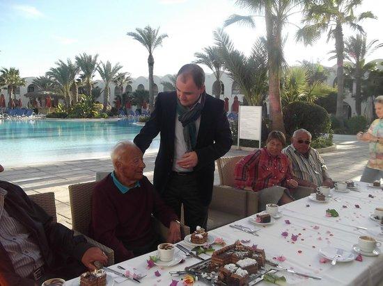 SENTIDO Djerba Beach: Remerciement de fidélité