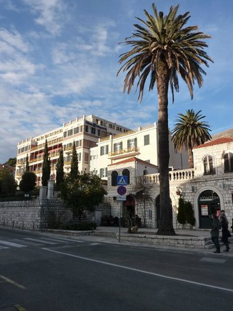Hilton Imperial Dubrovnik:                   The Hilton Imperial Hotel from the Pile Gate to the old city of Dubrovnik