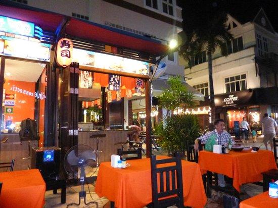 Big Fish's teppanyaki corner