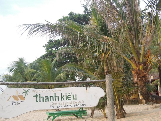 Thanh Kieu Beach Resort: spiaggia