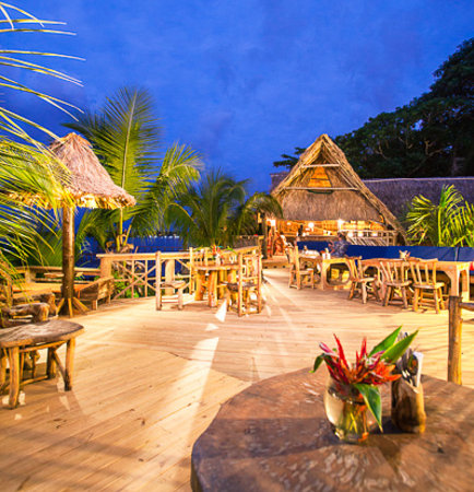 Tranquilseas Eco Lodge and Dive Center: sun deck