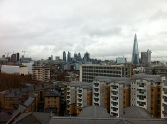 H10 London Waterloo: A gloomy day but great views.