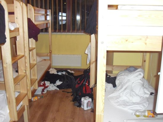 Messy Room When We Arrived Picture Of Target Hostel Zakopane