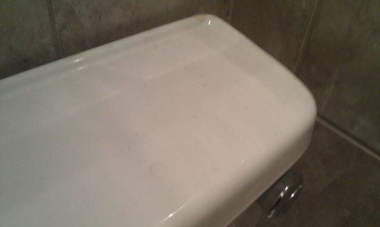 Acacia Villas Guest House: Toilet top also dirty