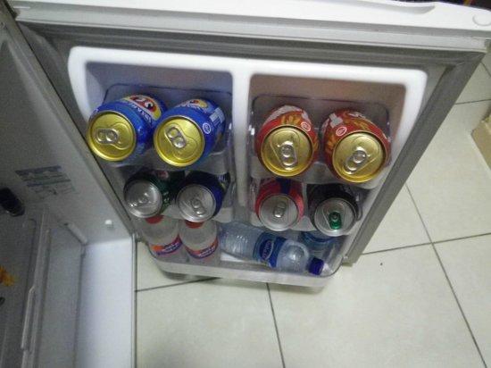 Pousada Sol & Lua : When you arrive your fridge is full:)