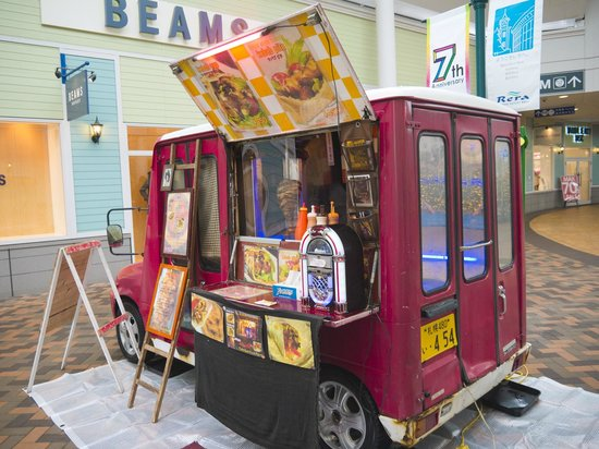 Chitose Outlet Mall Rera: Mini Food Truck
