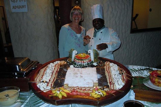 Pinewood Beach Resort & Spa: The jovial Mr Pudding/Pastry