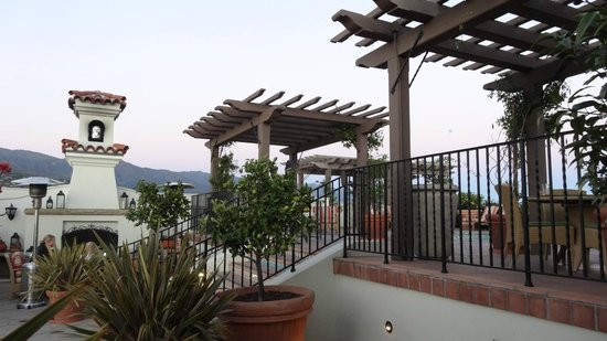 Kimpton Canary Hotel: Rooftop terrace
