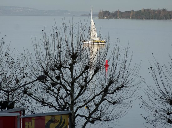 Hotel President Wilson: View from room_Lac Léman-Geneva Lake_Winter