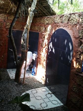 Mararikulam, Indien: open bath