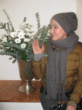Eden Hotel Wolff: Всегда живые цветы :)